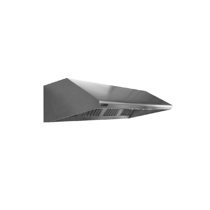 Campana monoblock pared - fondo 800'