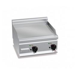 Fry top eléctrico acero rectificado - Serie Berto's Plus 600