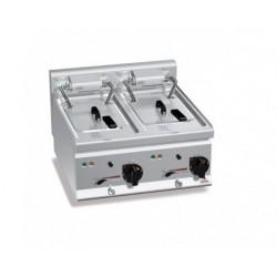 Freidora eléctrica 10+10 L - Berto's Plus 600