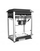 Máquina profesional para hacer palomitas, con o sin carro y con distintas capacidades.