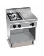 Cocinas industriales coup de feu o con placa radiante, ideal grandes cocinas
