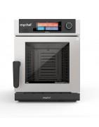 Mychef son hornos de convección-vapor mixtos para la cocina profesional, programables y compactos.